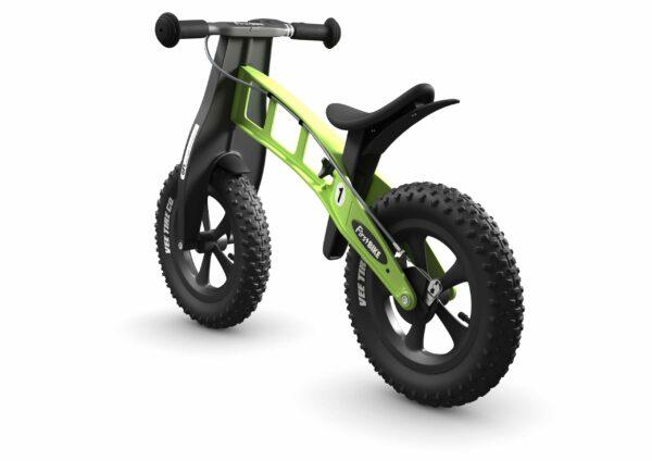 FirstBIKE Balance Bike Fat Green3