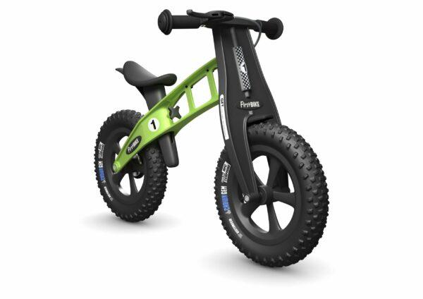 FirstBIKE Balance Bike Fat Green2