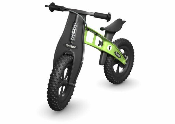 FirstBIKE Balance Bike Fat Green1