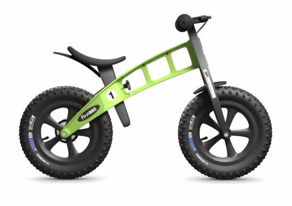 FirstBIKE Balance Bike Fat Green