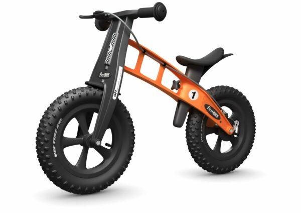 FirstBIKE Balance Bike Fat Orange5