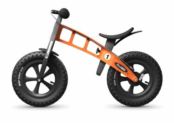 FirstBIKE Balance Bike Fat Orange4