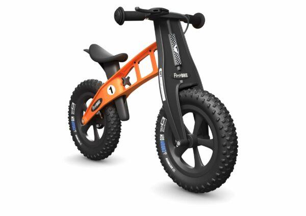 FirstBIKE Balance Bike Fat Orange2