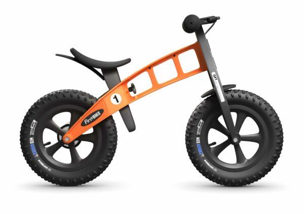 FirstBIKE Balance Bike Fat Orange