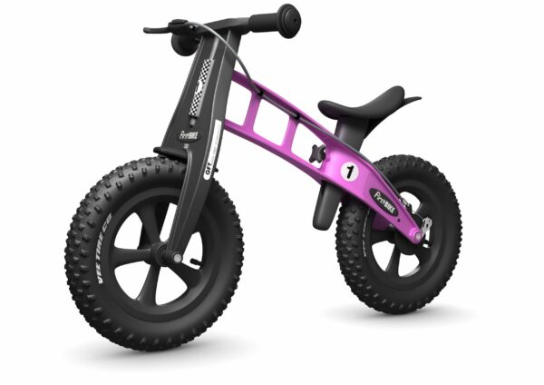 FirstBIKE Balance Bike Fat Pink5