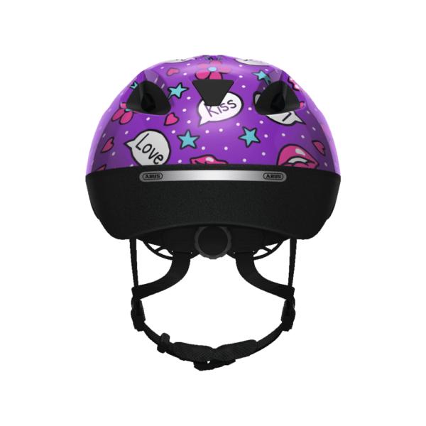 FirstBIKE helmet Smooty Purple Kisses3