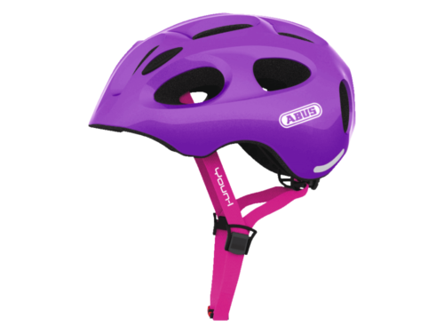 FirstBIKE helmet Youn-I sparkling purple