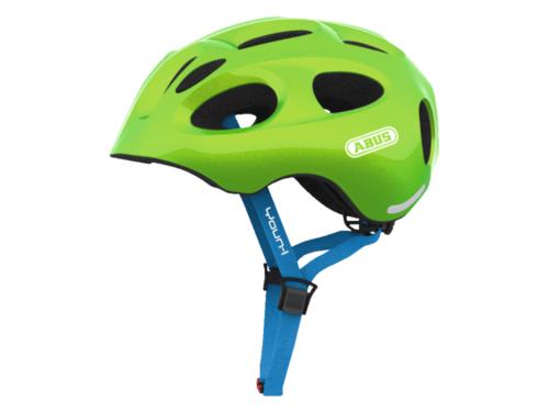 FirstBIKE helmet Youn-I sparkling green2