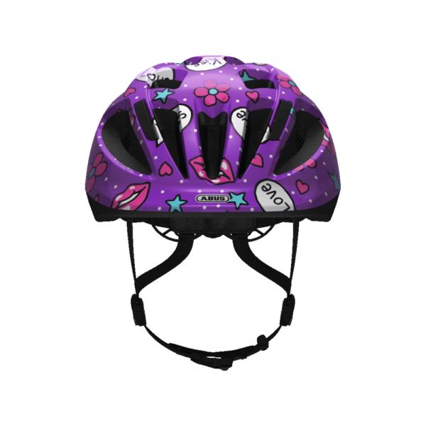 FirstBIKE helmet Smooty Purple Kisses1