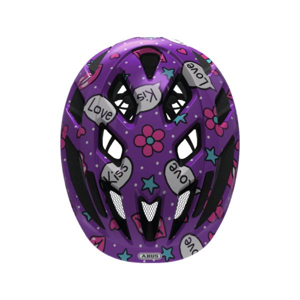 FirstBIKE helmet Smooty Purple Kisses