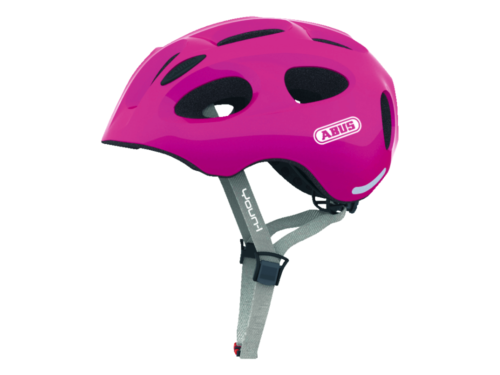 FirstBIKE helmet Youn-I sparkling pink2