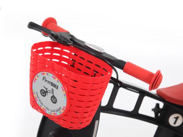 FirstBIKE Basket Red