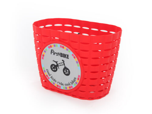 FirstBIKE Basket Red1